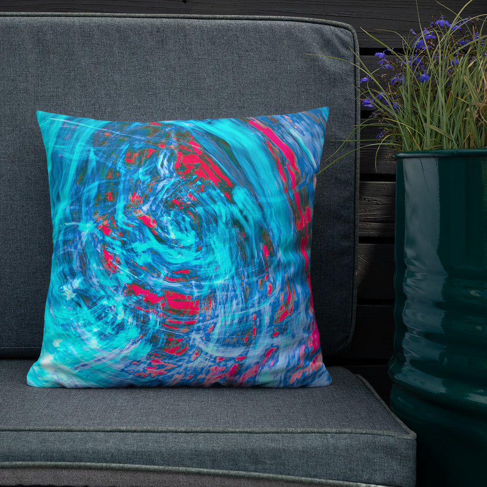 Abstract Art Cushion - Premium  Artistic Pillow