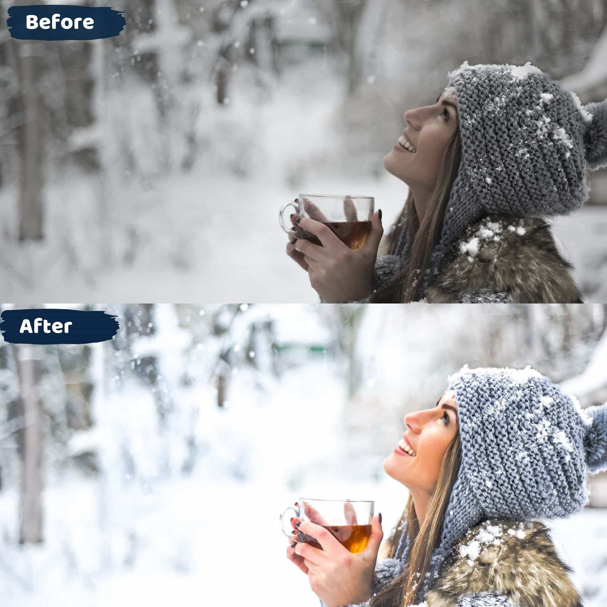 Snow Lightroom Presets Instagram