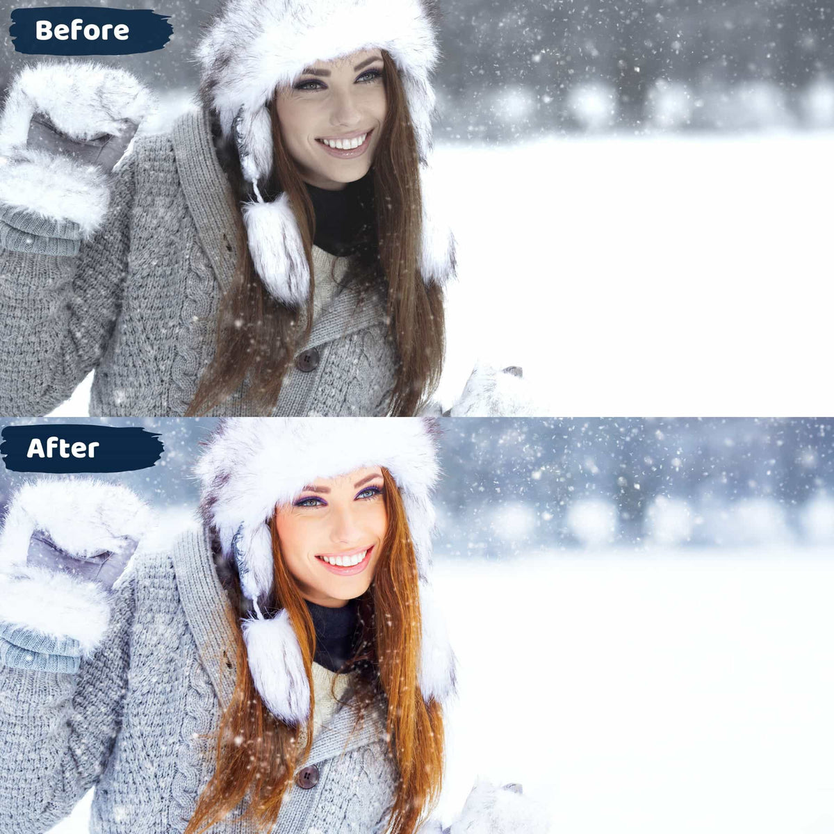 Snow Lightroom Presets Winter