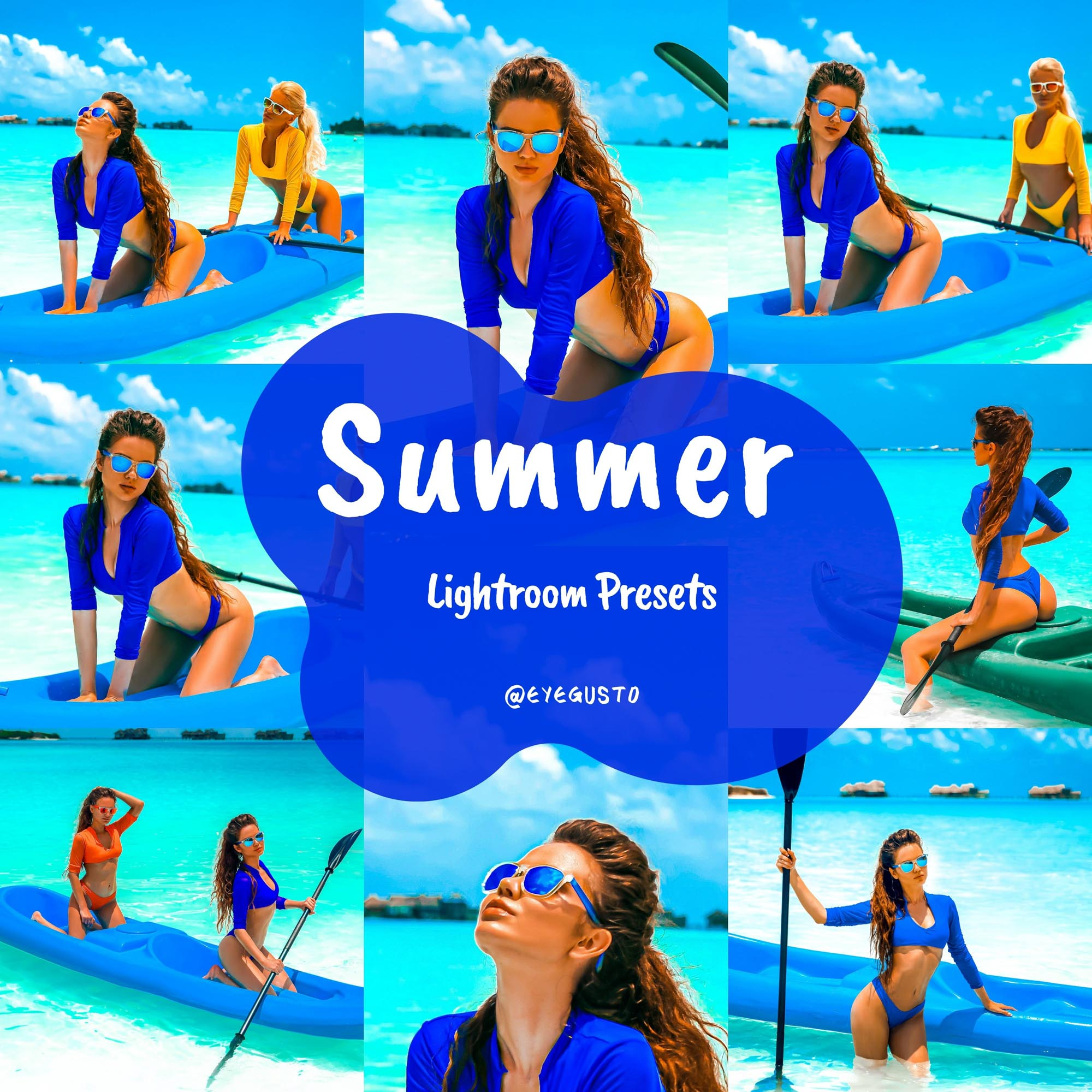 Summer Lightroom Presets Beach Instagram Mobile