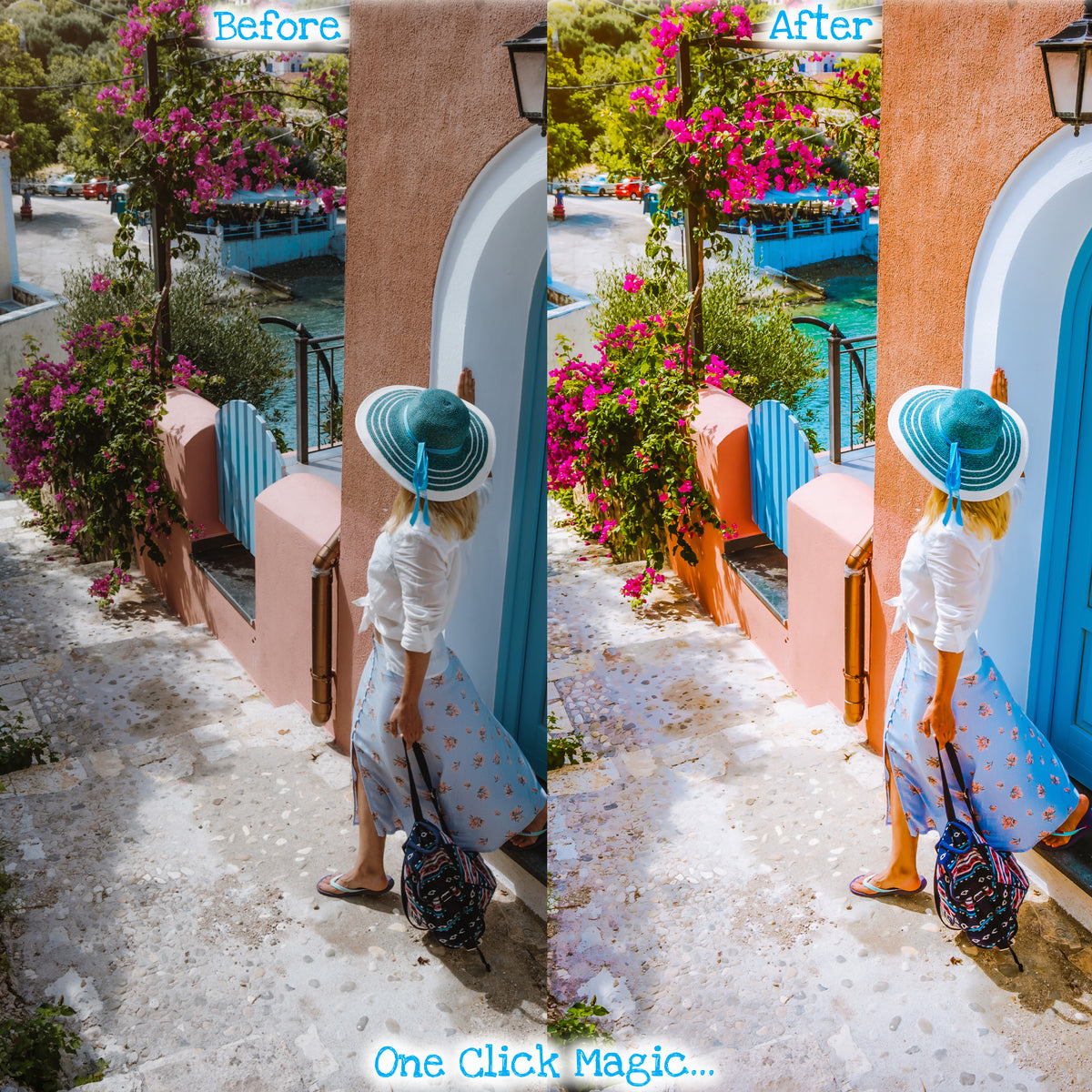 Travel Lightroom Mobile Presets for Instagram
