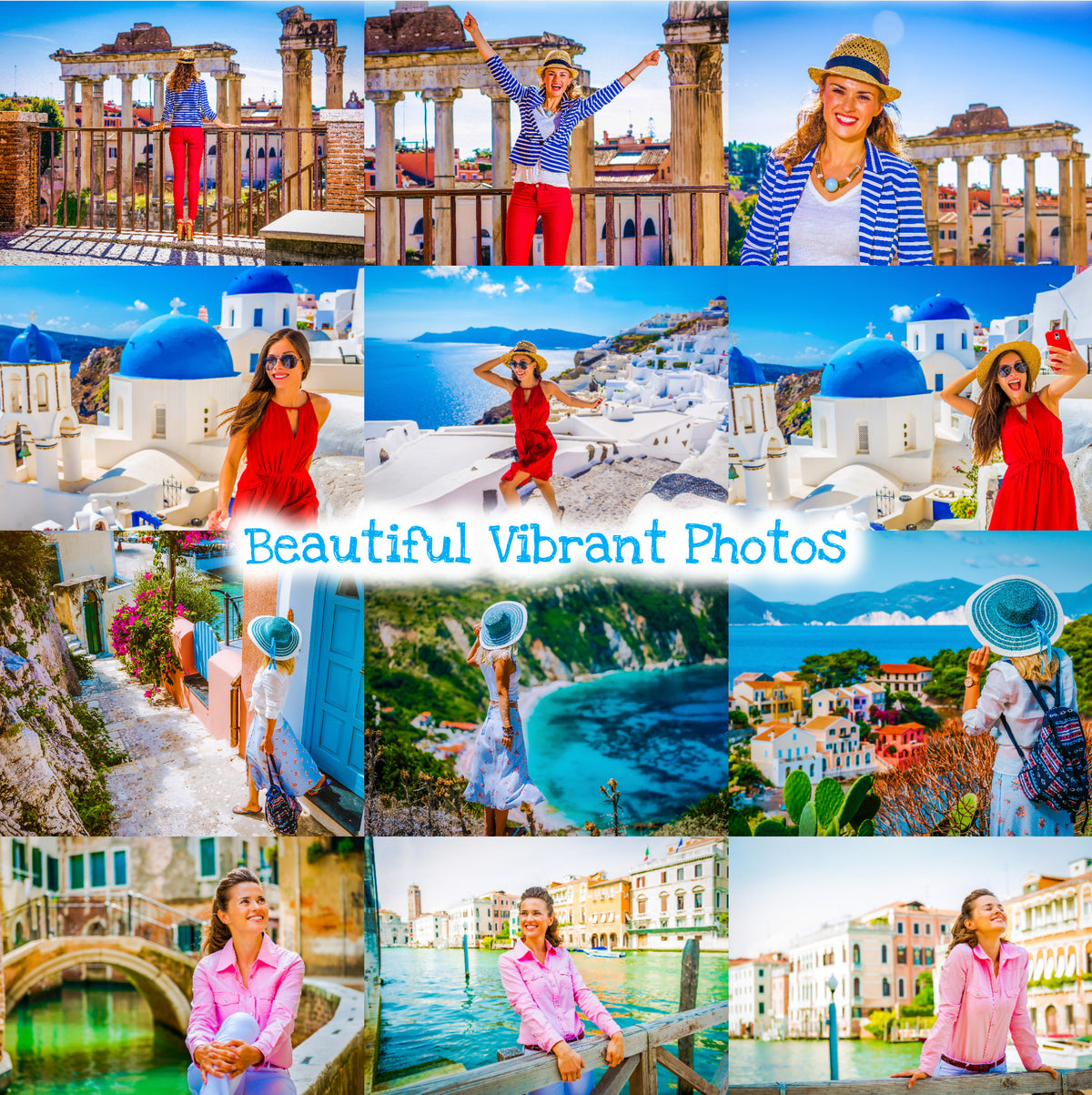 Travel Lightroom Presets Instagram Influencer