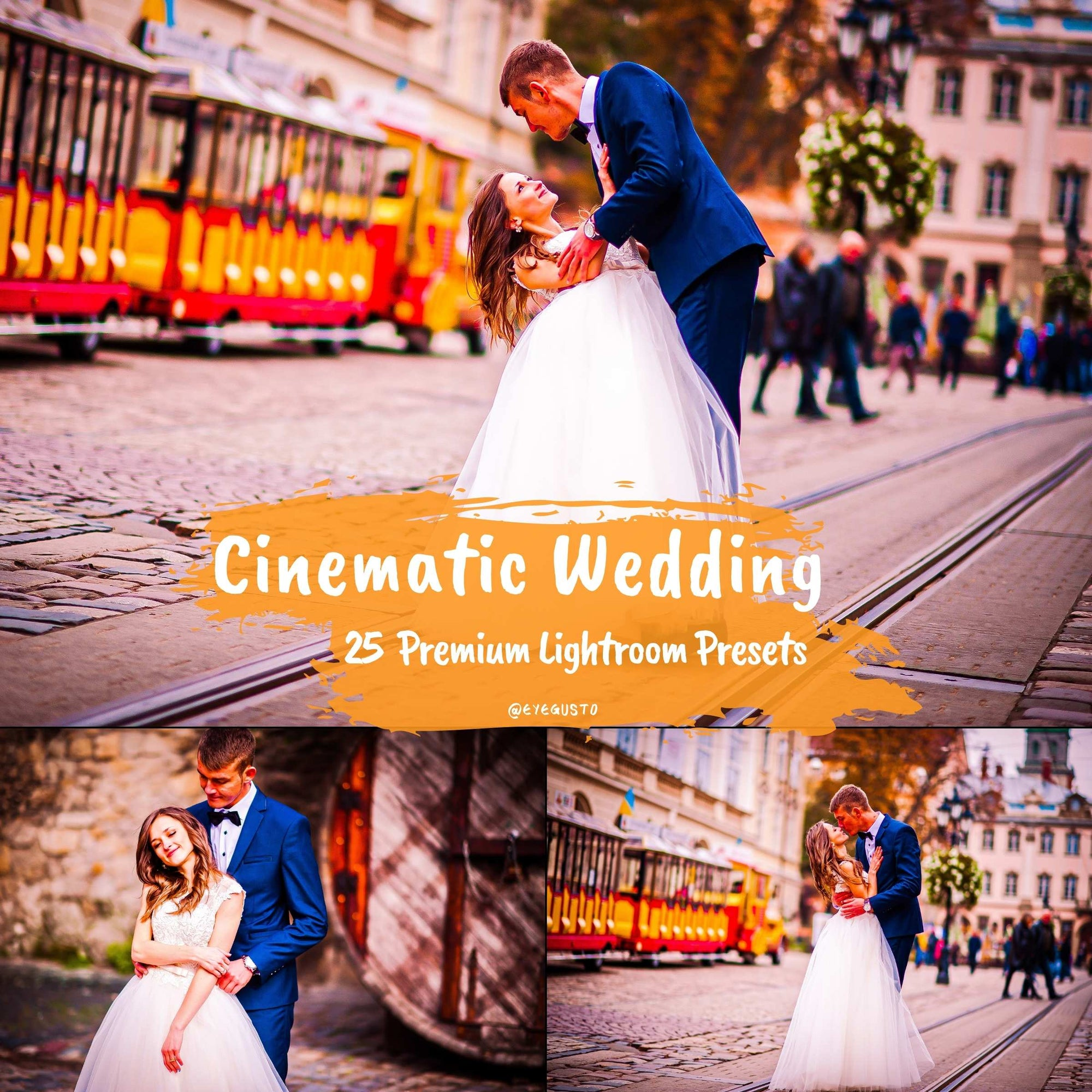 25 Wedding Lightroom Presets