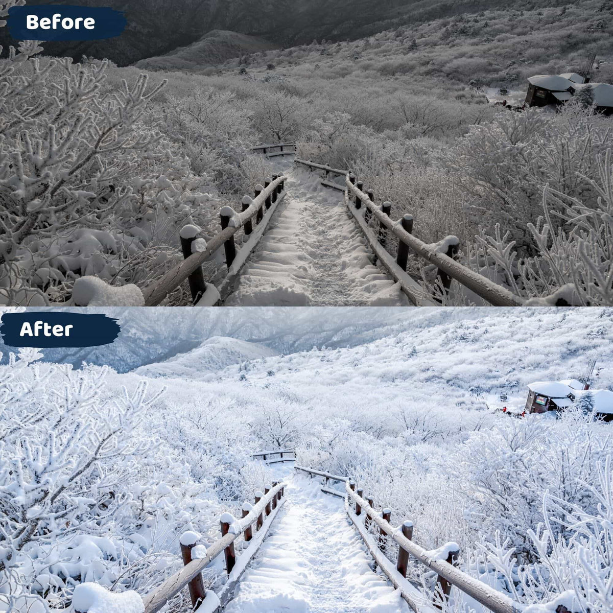 Winter Lightroom Presets Instagram