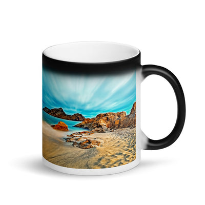 Surprise Black Mug - The Nature Collection - The Ethereal Beach