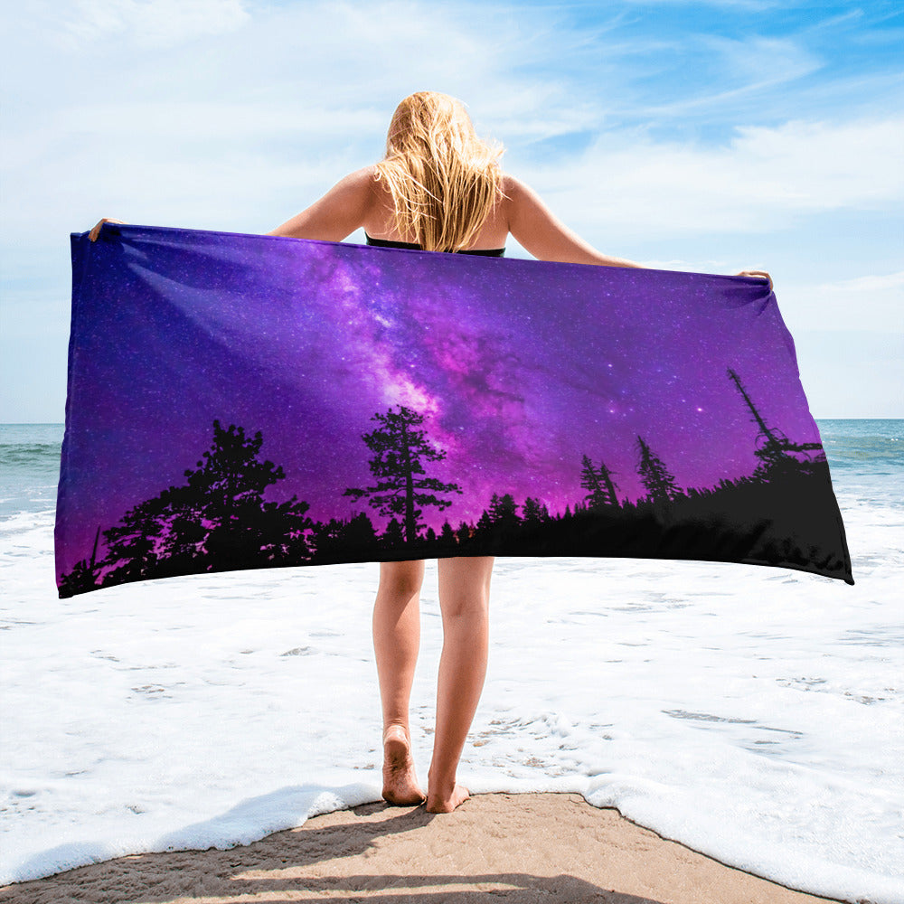Beach Gym Spa Towel - Summer Collection -  Under the Stars