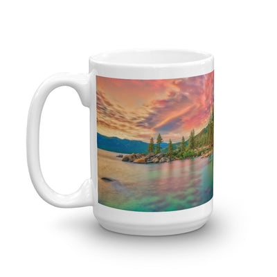 Mug - The Nature Collection - The Pink Sunset at Lake Tahoe