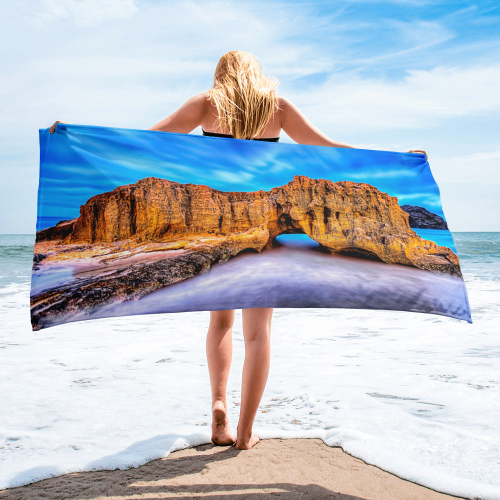 Beach Gym Spa Towel - Summer Collection -  The Gorgeous Sky
