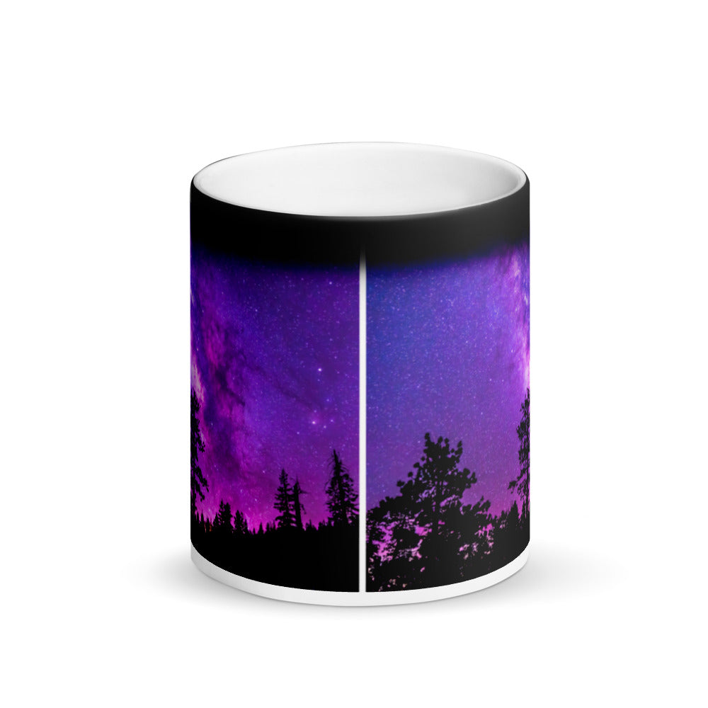 Surprise Black Mug - The Nature Collection - Under Stars