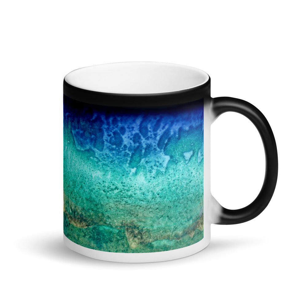 Surprise Black Mug - The Nature Collection - The Gorgeous Coral Reefs