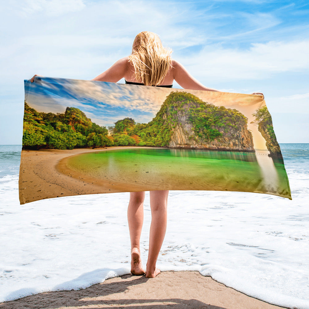 Beach Gym Spa Towel - Summer Collection -  The Secluded Beach