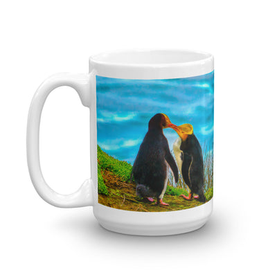 Mug - The Wildlife Collection - Two Penguins in Love