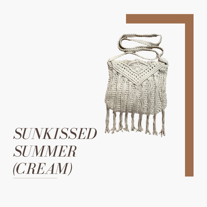 Sunkissed Summer (Cream) - Plain