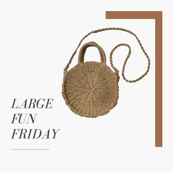 Large Fun Friday - Single Colour Pom Pom