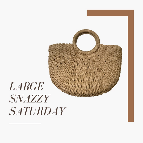 Large Snazzy Saturday - Single Colour Pom Pom