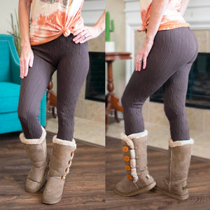 Brown Bear Leggings