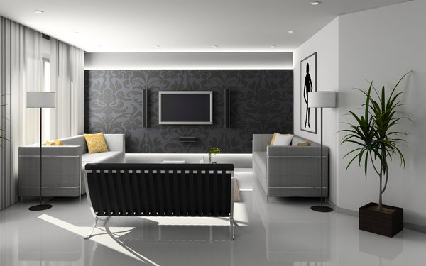 Black and White Interior Design | Qolombo
