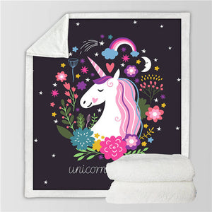 Unicorn Blanket #25 | Qolombo