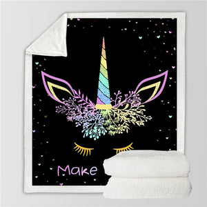 Unicorn Blanket #22 | Qolombo