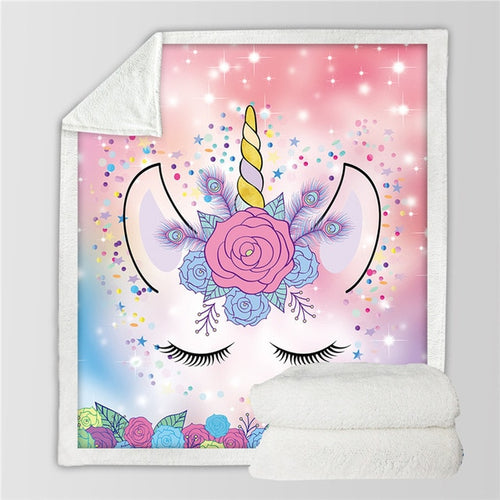 Unicorn Blanket #23 | Qolombo