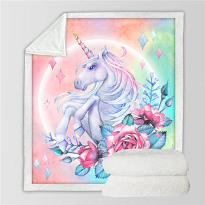 Unicorn Blanket #16 | Qolombo