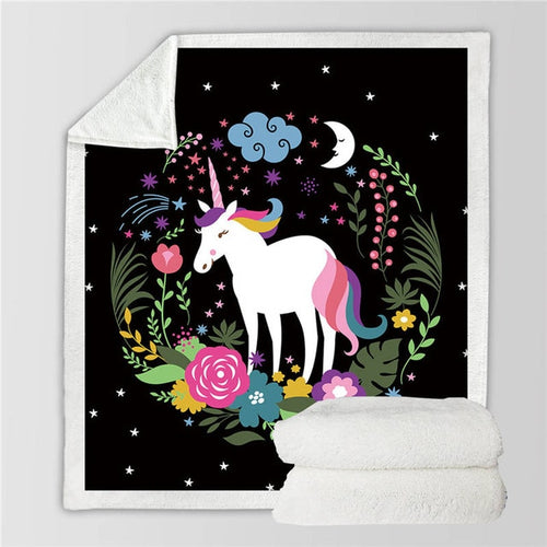 Unicorn Blanket #19 | Qolombo