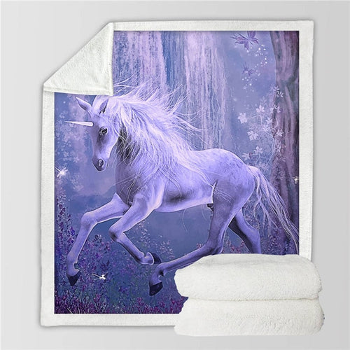 Unicorn Blanket #17 | Qolombo