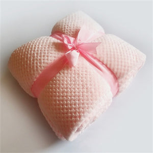 Light Pink Blanket | Qolombo
