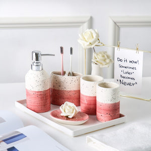 Ceramics Bathroom Sets | Qolombo
