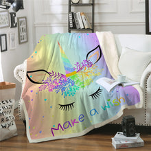 Load image into Gallery viewer, Unicorn Blanket #20 | Qolombo