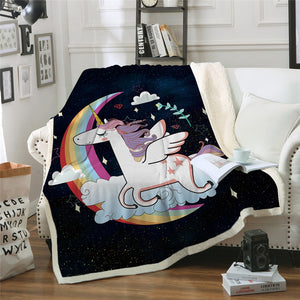 Unicorn Blanket #21 | Qolombo