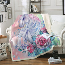 Load image into Gallery viewer, Unicorn Blanket #16 | Qolombo