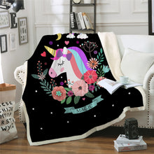 Load image into Gallery viewer, Unicorn Blanket #4 | Qolombo