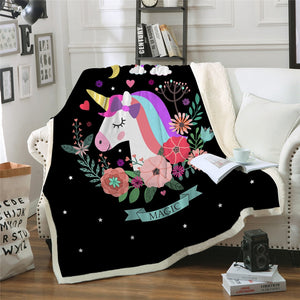 Unicorn Blanket #4 | Qolombo