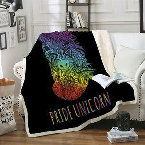 Unicorn Blanket #6 | Qolombo