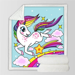 Unicorn Blanket #1 | Qolombo