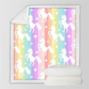 Unicorn Blanket #2 | Qolombo