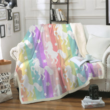 Load image into Gallery viewer, Unicorn Blanket #2 | Qolombo