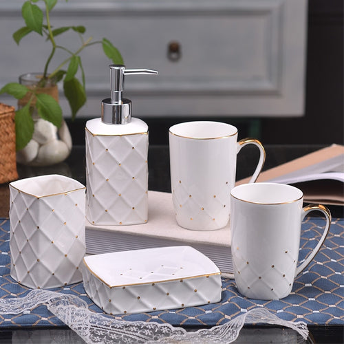 European-style Bathroom Wash Set | Qolombo