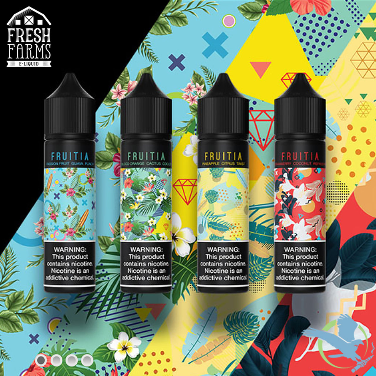 Fruitia E-Liquid 60ml