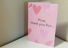 Load image into Gallery viewer, Mother's Day Card - Heart