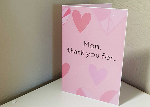 Mother's Day Card - Heart