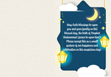 Load image into Gallery viewer, Milad un Nabi Greeting Card