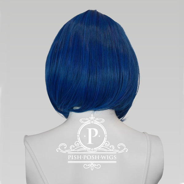 Lilo Shadow Blue Short Wig Back View