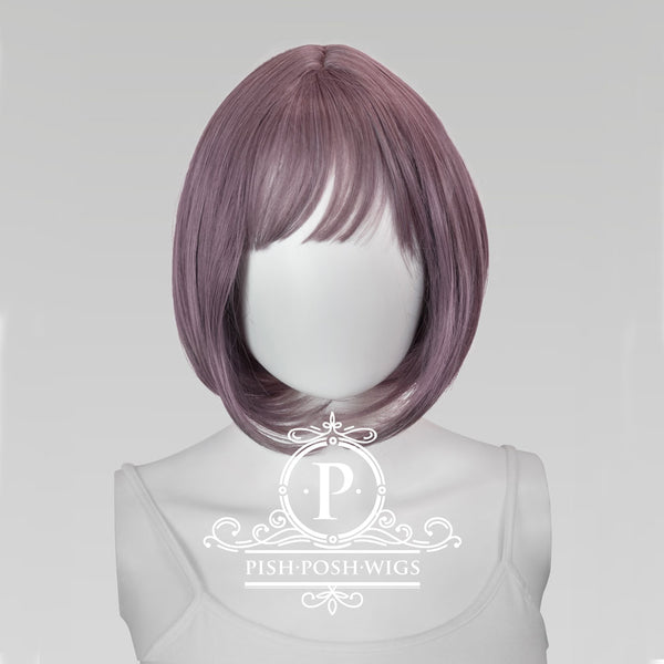 Lilo Velvet Muave Short Wig Frontal View