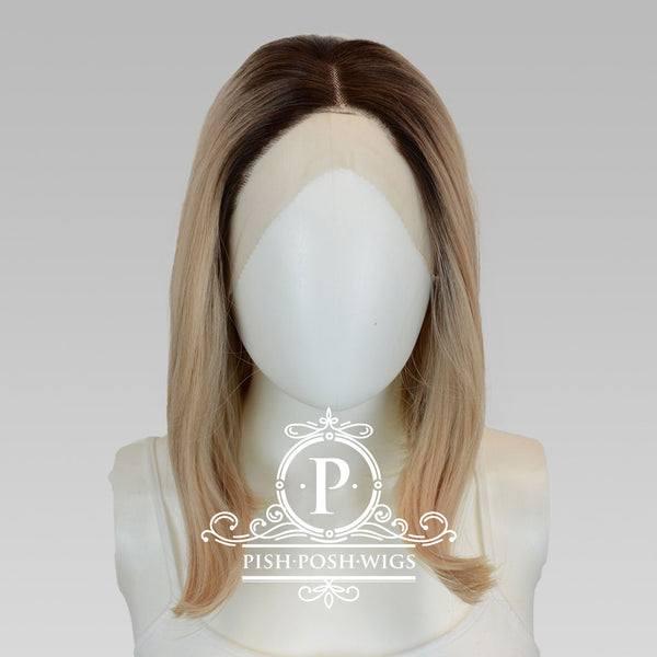 Gigi Sunflower Blonde Lace Front Wig Frontal View