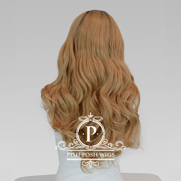 Gisele Sakura Curly Lace Front Wig Back View