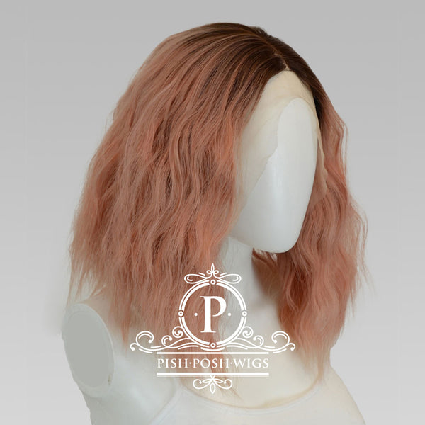 Felice Rose Gold Lace Front Wig Profile View