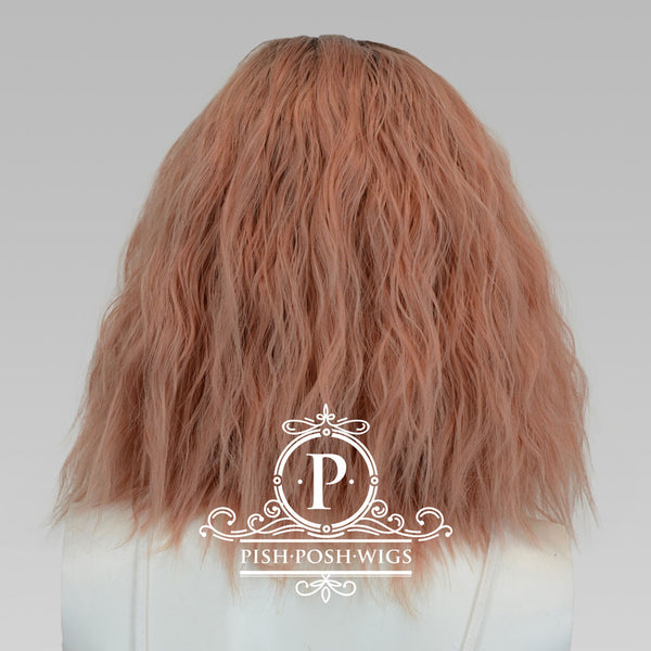 Felice Rose Gold Lace Front Wig Back View