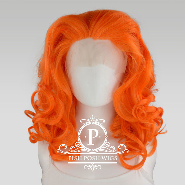 Farrah Tangerine Front Wig Front View